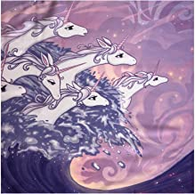 The Last Unicorn – Official Licensed Scarf (Unicorns in the Sea)