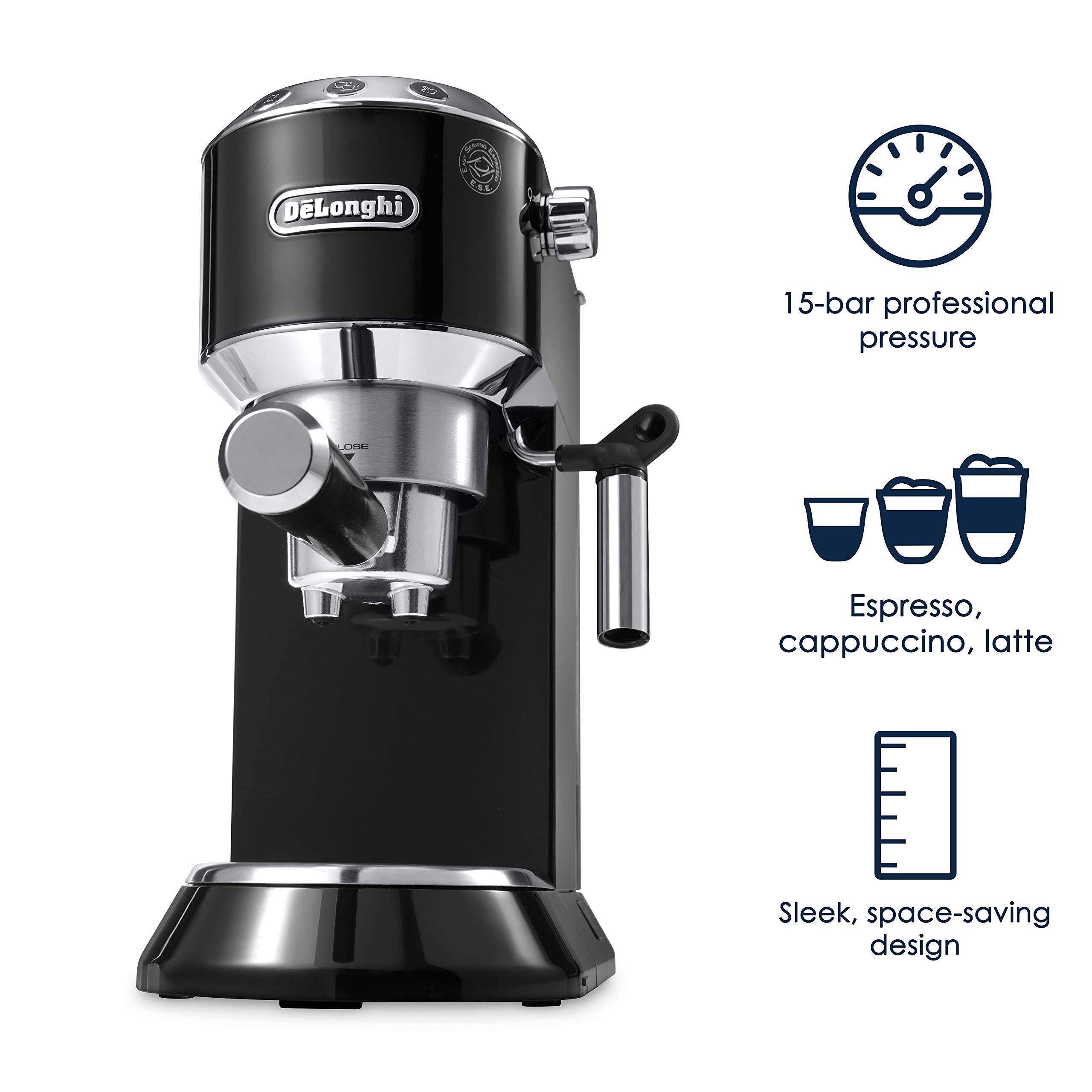 DeLonghi America, Inc EC685BK Dedica Deluxe Espresso DEDICA EC680B ...