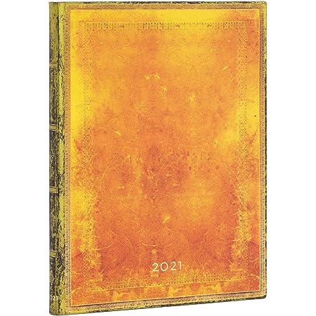180 x 230 mm Paperblanks DE6875-4 Agendas 12 Mois 2021 Gen/èse Vertical Ultra