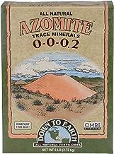 Down to Earth Organic White Azomite Powder 0-0-0.2, 6 lb