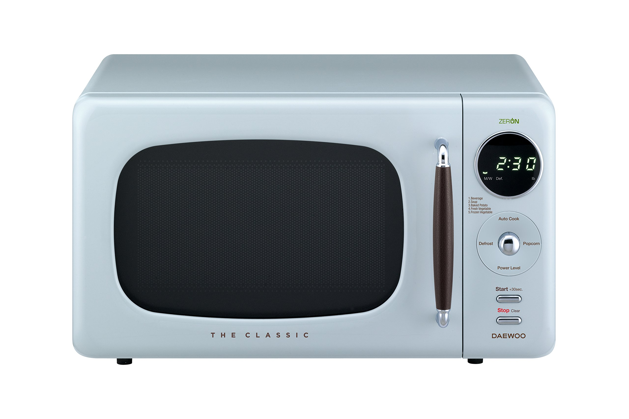 Daewoo KOR07R3ZEL Retro Countertop Microwave