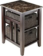 Winsome Zoey Accent Table, Chocolate