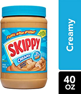Skippy Creamy Peanut Butter, 40 Ounce
