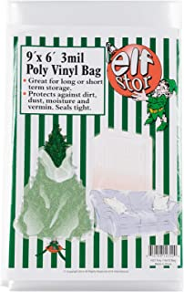 Elf Stor 83-DT5026 Premium Christmas Poly Large Storage Bag 9' x 6' for 9' Trees, 9 Foot
