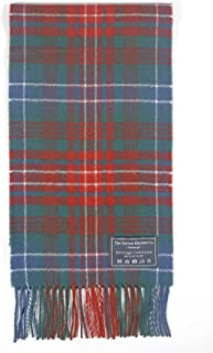 The Tartan Blanket Co. Scottish Lambswool Scarf Wilson Ancient Tartan