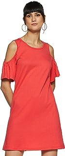 Vero Moda Women's Laura Cold Shoulder Short Dress