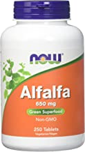 Alfalfa 10 Grain Now Foods 250 Tabs