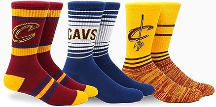 PKWY NBA Team Crew Socks, 3pk