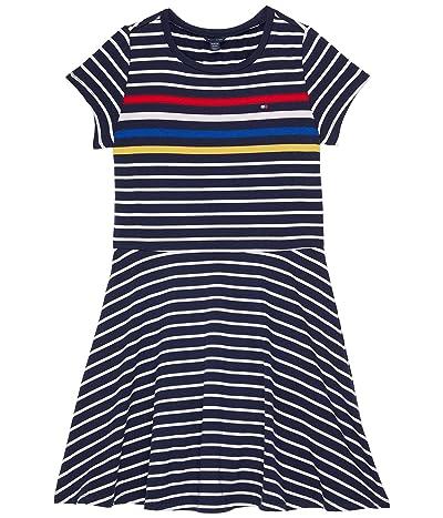 Tommy Hilfiger Kids Engineer Stripe Dress (Big Kids)