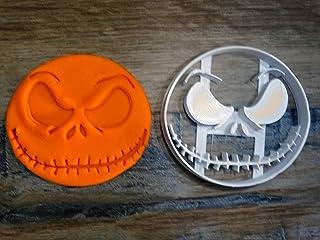 ELACE - Emporte-pièce thème Halloween Forme de L'Etrange Noel de M Jack Sellington pour la Patisserie, sablé, Biscuit, pât...