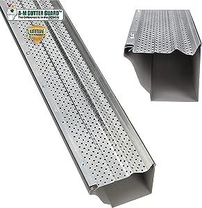 A-M Aluminum Gutter Guard 5