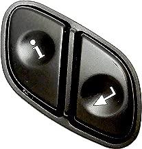 APDTY 012232 Driver Information Switch Info/Enter Button Mounts In Steering Wheel Fits Rainier Escalade Avalanche Silverado Suburban Tahoe Trailblazer Envoy Sierra Yukon Hummer (Replaces 21997739)