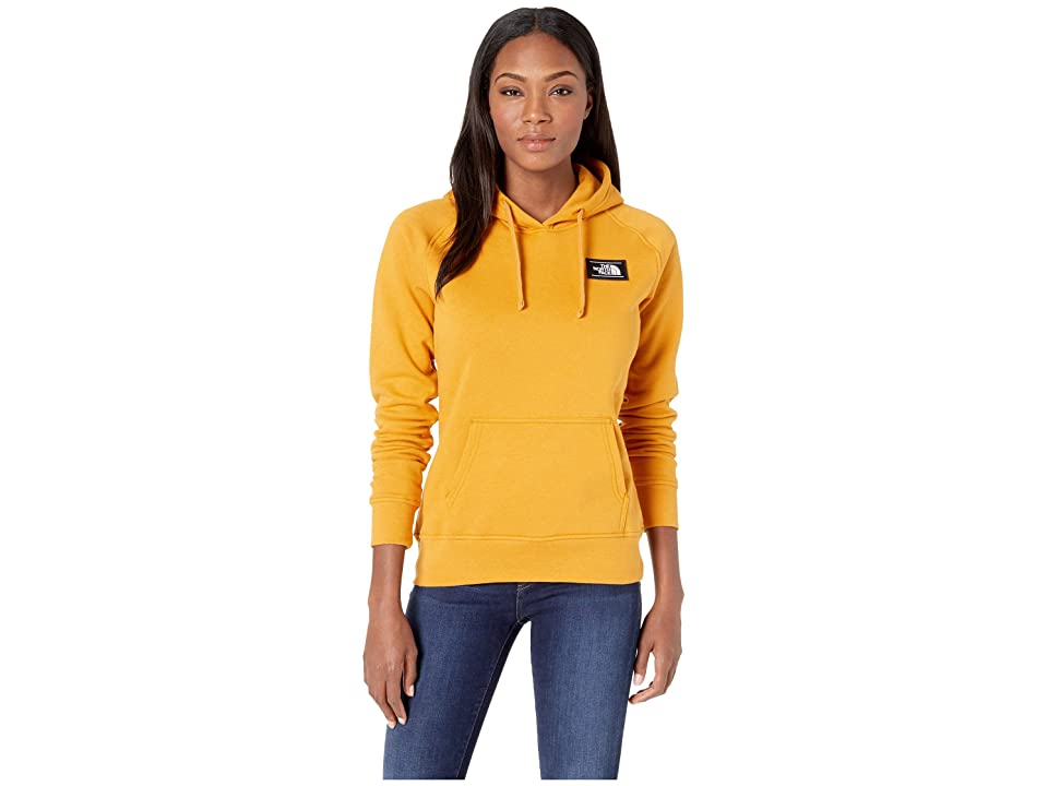 The North Face Bottle Source Pullover Hoodie (Citrine Yellow) Women