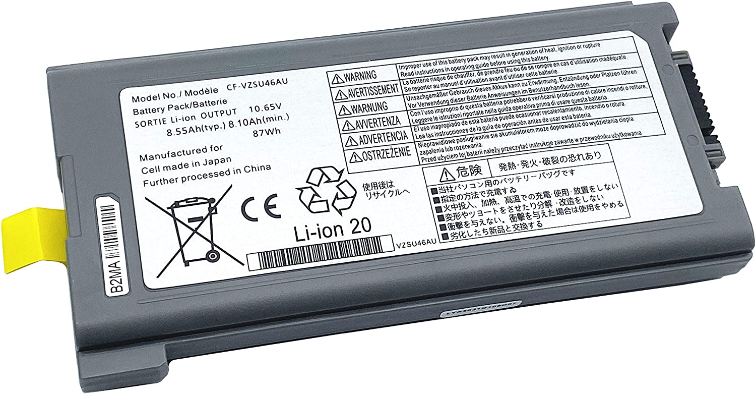 ENHONGFENG All items free shipping CF-VZSU46AU 10.65V87Wh Replacement Minneapolis Mall Laptop Battery for