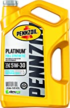Best Pennzoil - 550046126 Platinum Full Synthetic 5W-30 Motor Oil (5-Quart, Single-Pack), Packaging May Vary Review