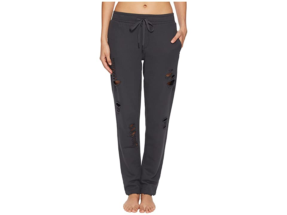 ALO Ripped Sweatpants (Anthracite/Distressed Holes) Women