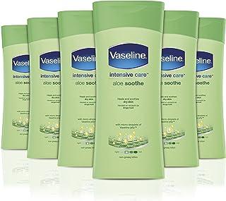 Vaseline 强力护理芦荟乳 200 毫升 - 6 件装