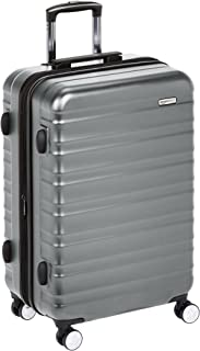 AmazonBasics Premium Hardside Spinner Luggage with Built-In TSA Lock
