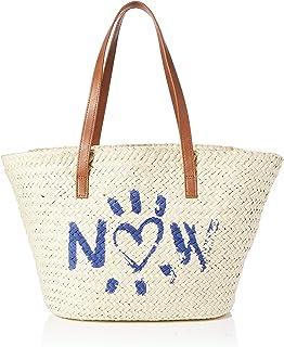 Desigual Others Shopping Bag, Bolsa de la Compra para Mujer, Blanco, U