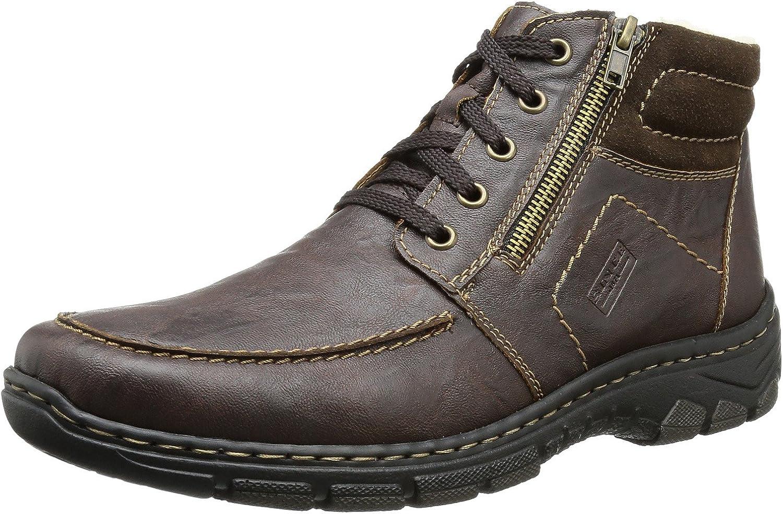 Rieker Men Boots Brown, (Kastanie Mgold) 39934-25