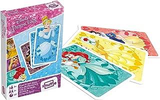 Cartamundi Disney Princess Pairs and Old Maid Playing Cards,
