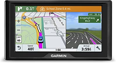Garmin Drive 61 USA+CAN LM GPS Navigator System with Lifetime Maps, Spoken Turn-by-Turn Directions, Direct Access, Driver Alerts, TripAdvisor and Foursquare Data (Renewed)