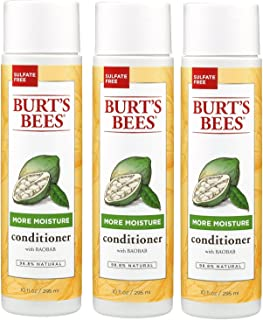 Burts-Bee's More Moisture Baobab Conditioner, 10 Ounces Pack of 3