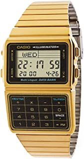 Casio DBC611G-1D Casio Gold & Black Digital Watch - Gold / One Size