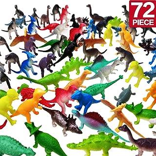 OuMuaMua Realistic Dinosaur Figure Toys - 72 Pcs 2