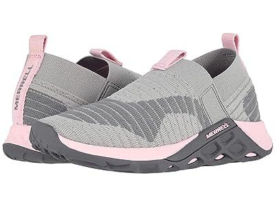 Merrell Kids Range (Little Kid/Big Kid) (Grey/Pink) Girls Shoes