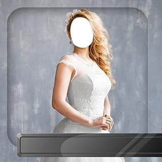 Montaje de la foto del vestido de boda