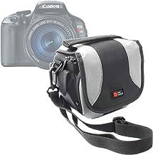 DURAGADGET Bolso Negro Y Gris para Las Cámaras Canon PowerShot SX410 IS   Nikon Coolpix P610   L840   Pentax XG-1
