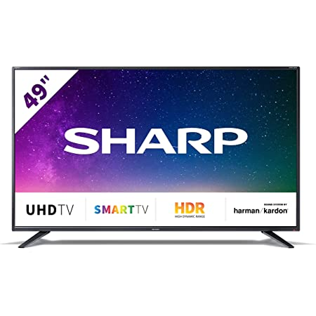 Sharp 55bj5e 139 Cm 55 Inches 4k Ultra Hd Smart Led Tv Hdr Harman Kardon Sound System Home Cinema Tv Video