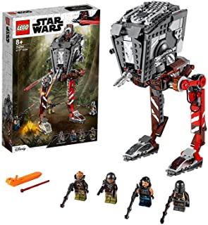 LEGO 75254 Star Wars AT-ST Raider Disney Vehicle Set with Firing Shooters and 4 Minifigures, TV Series The Mandalorian Col...