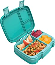 Bentgo Fresh (Aqua) – New & Improved Leak-Proof, Versatile 4-Compartment Bento-Style Lunch Box – Ideal for Portion-Control...