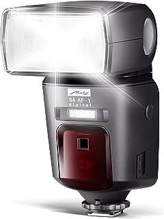 Metz mecablitz 64 AF 1 für Sony Multi Interface Kameras (DSLR und CSC) | High End Blitzgerät mit TTL, Leitzahl 64, HSS (High Speed Sync), Zweitreflektor, Touch Display etc.