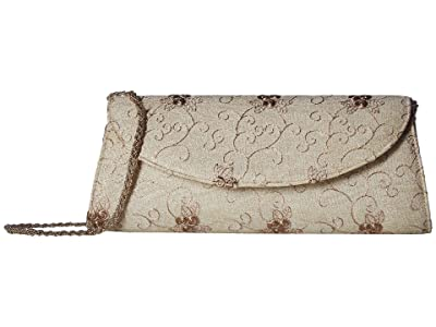 Adrianna Papell Kamille (Earth) Clutch Handbags