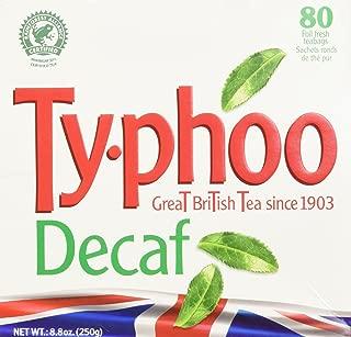 Typhoo Decaf Tea Bags, 80 Count
