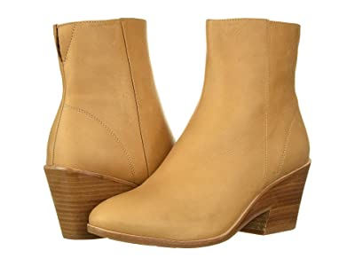 Gentle Souls by Kenneth Cole Blaise Wedge Bootie (Tan Leather) Women