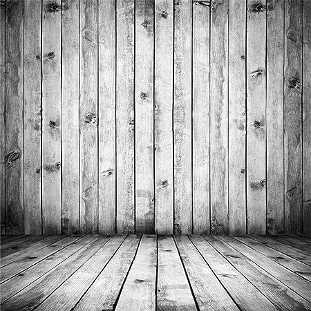 Yongfoto 3x3m Foto Hintergrund Holz Weiß Innenraum Mit Kamera