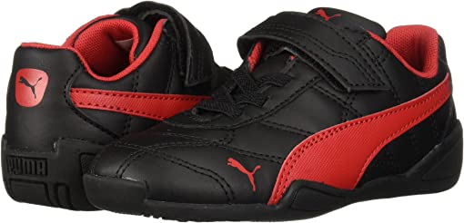 Puma Black/Ribbon Red