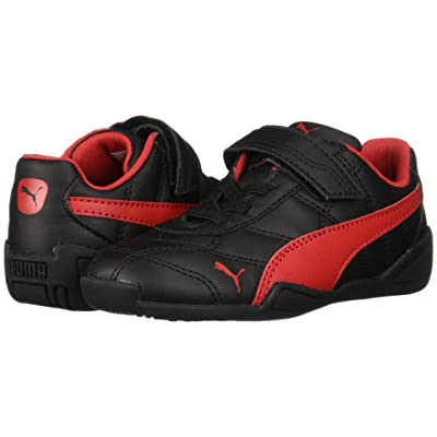 Puma Kids Tune Cat 3 V (Toddler) (Puma Black/Ribbon Red) Boys Shoes
