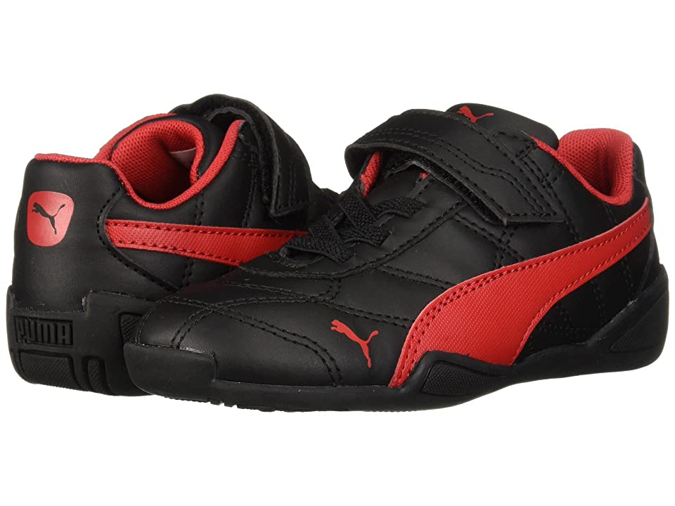 Puma Kids Tune Cat 3 V (Toddler) (Puma Black/Ribbon Red) Boys Shoes