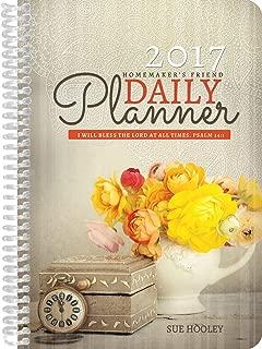 2017 Homemaker's Friend Daily Planner