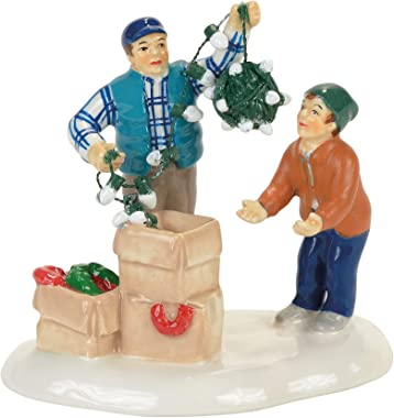 Department 56 Snow Christmas Vacation Clark and Rusty Figurine Village Accessory, Standard, Multicolored