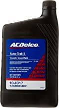 ACDelco 10-4017 Auto-Trak II Transfer Case Fluid - 33.8 oz
