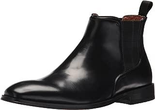 Florsheim Men's Belfast Plain Toe Gore Chelsea Boot, Black