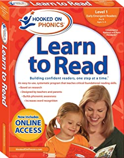 Hooked on Phonics Learn to Read - Level 1: Early Emergent Readers (Pre-K | Ages 3-4) (1)