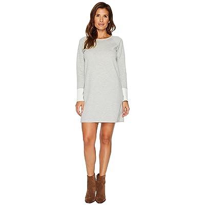Lilla P Reversible Dress (Heather Grey/Snow) Women