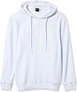 Hugo Boss Men's Terry Swim Hooded Shirt